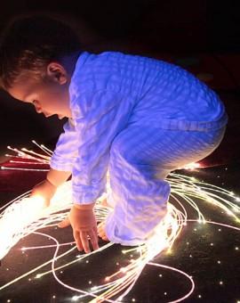 fiber optic sensory sideglow kit mobile play