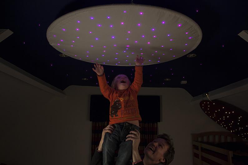 Fiber Optic Star Ceiling Ring