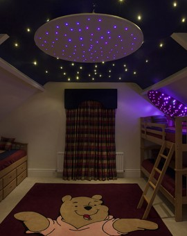 sensory room fiber optic lighting special needs therapy lighting