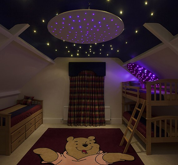 fiber optic star ceiling ring fiber optic lighting kits. Black Bedroom Furniture Sets. Home Design Ideas