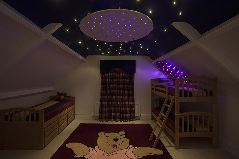 Fiber Optic Star Ceiling Ring Fiber Optic Lighting Kits