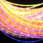 UV reactive fiber optic sensory lighting