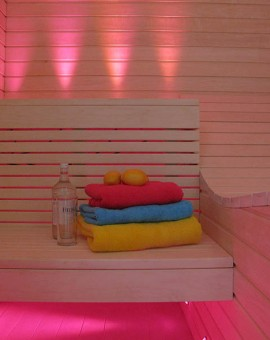 fiber optic sauna lighting kit