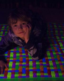 sensory mat uv glow mat