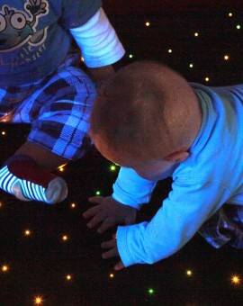 fibre optic sensory star carpet