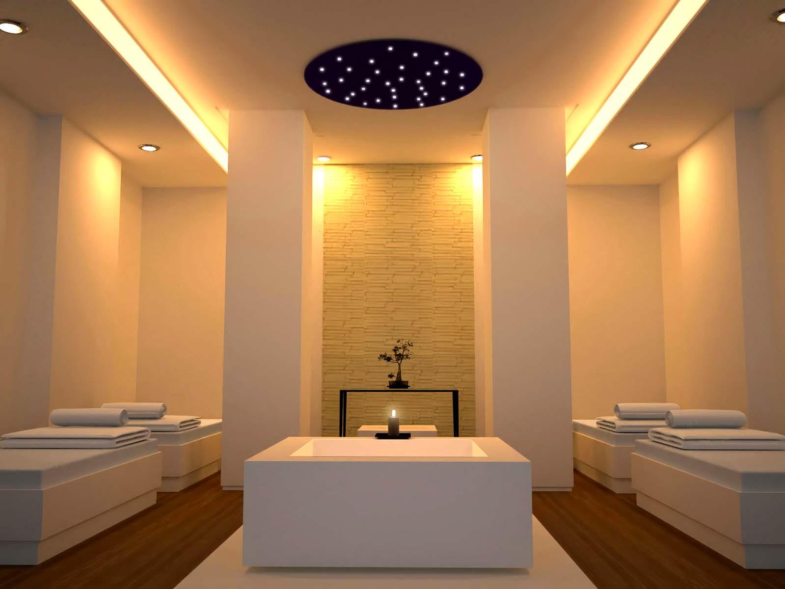 Spa Light Fixture